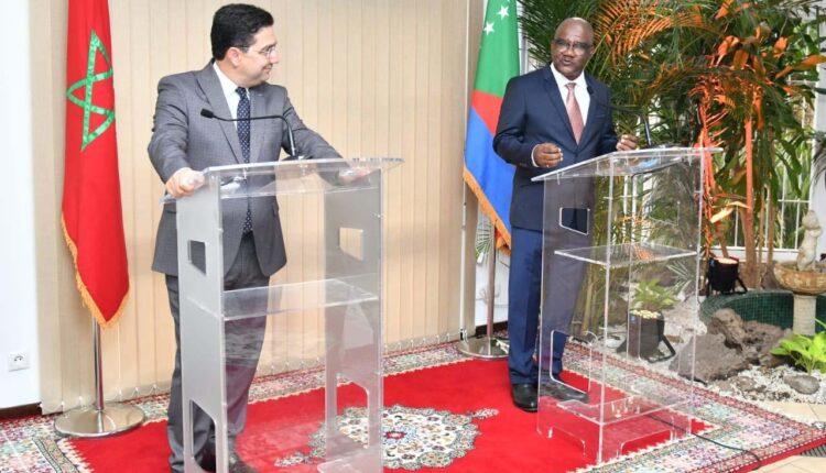Comorian Minister and mr Bourita