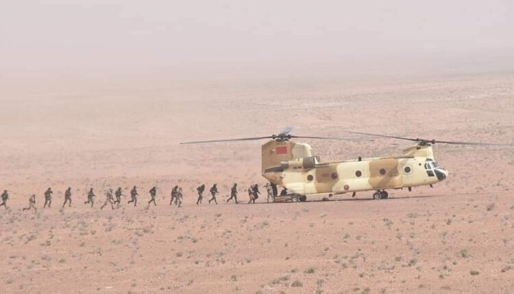Moroccan Royal Army Troops