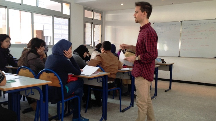 English Language Proficiency index: The English proficiency in Morocco is low