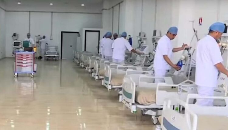 Casablanca equips large field hospital for Covid-19 patients
