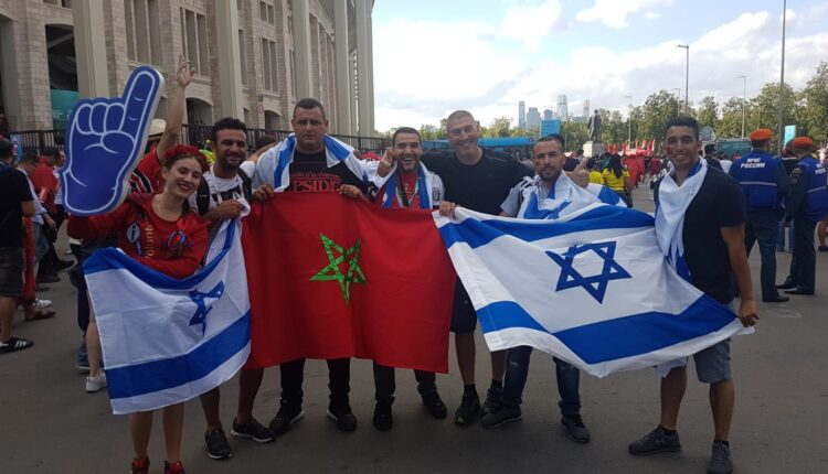 Cohen, Israel: Demonstrations to support Moroccan Sahara
