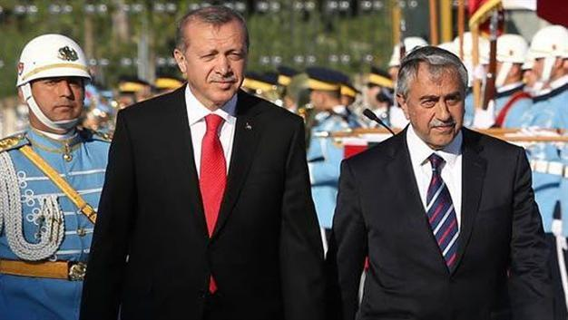 Erdogan visits northern Cyprus, a provoking move
