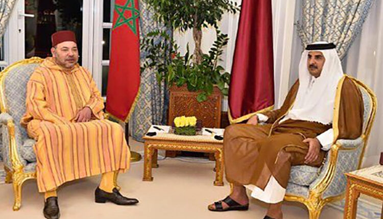 His Majesty King of Morocco Mohammed VI received a phone call on Monday from his brother HH Sheikh Tamim Ben Hamad Al-Thani, Emir of the State of Qatar.