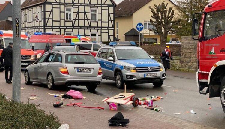 Driver kills 5 Pedestrians in Germany