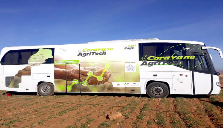 """the agricultural technology convoy """"AgriTech"""" which aims at putting digital technology in the service of small farmers was launched on Thursday December 24th."""
