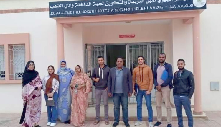 Director of Dakhla's regional institute, Sidi Mohamed Oubit, provides insight on the virtual exchange conducted with MSU.