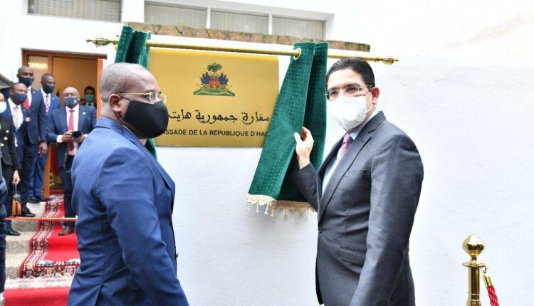 Haiti officially inaugurates its newly opened embassy in Rabat