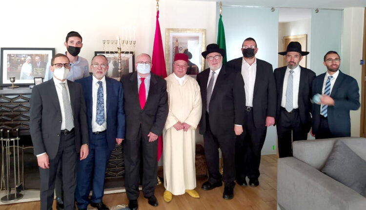 The Moroccan Jewish community in Mexico praises HM The King Mohamed VI and shows tremendous support for Morocco.