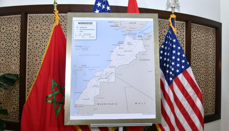 The United States of America put an end to the maneuvers of Morocco's opponents by officially adopting the full map of Morocco