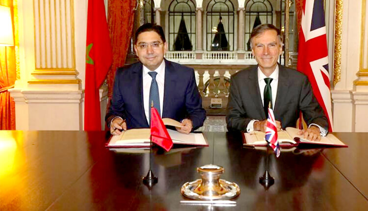Morocco-UK welcome the provisional application of the Association Agreement signed in 2019