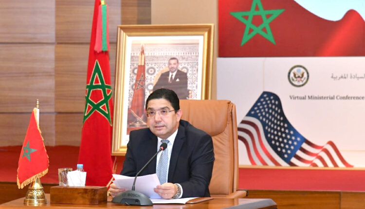 During the Ministerial Conference in support of the Autonomy Initiative under Morocco's Sovereignty, FM Nasser Bourita called for implementing the Autonomy Initiative after numerous countries recognized the Moroccan Sahara.