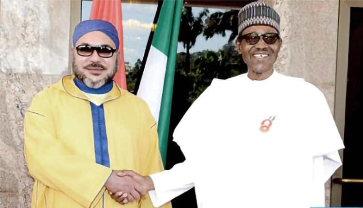 His Majesty the King and President Muhammadu BUHARI have expressed their common determination to pursue and put into action, as soon as possible, the strategic projects between the two countries, particularly the Nigeria-Morocco Gas Pipeline and the creation of a fertilizer production plant in Nigeria.