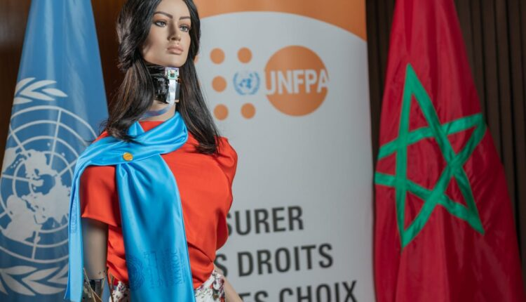 The whole world got to know Shama, the female robot, during an international campaign to combat violence against women.