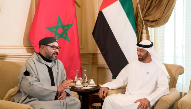 HM King Mohammed VI Welcomes UAE Minister of Foreign Affairs and International Cooperation