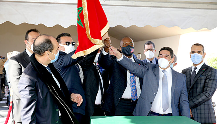 Said Amzazi has chaired the Inauguration of Construction Work of a Vocational Training Center in Professions of Transport and Logistics Services in Nouaceur, Casablanca.