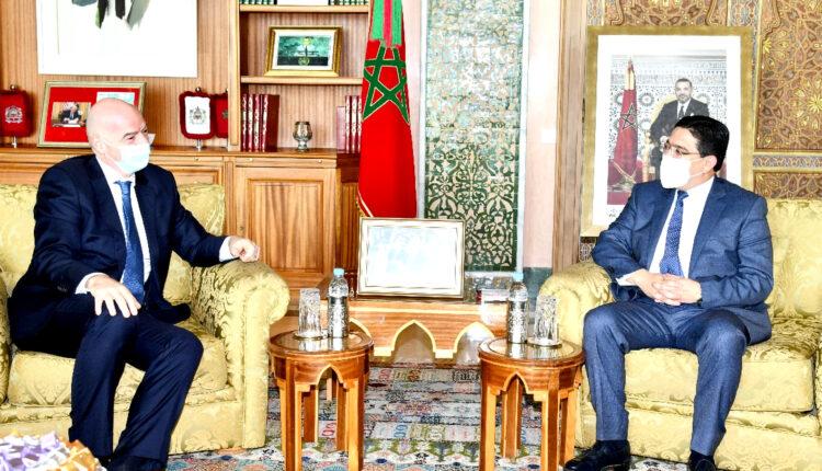 FIFA President Thanks HM King Mohammed VI for Supporting Football Development