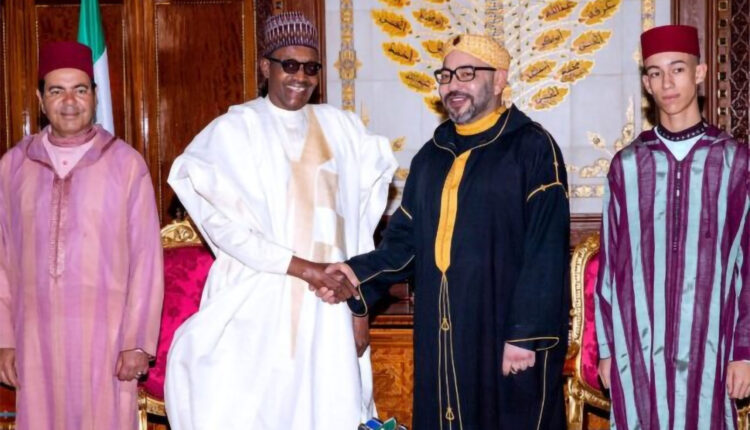 Nigeria's President Thanks HM King of Morocco Mohammed VI for the help and support Morocco allots to Nigeria.
