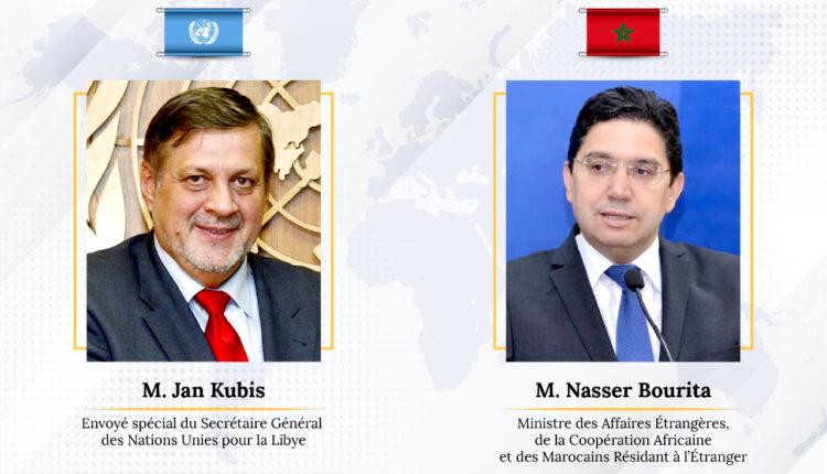 Nasser Bourita and Jan Kubis on the Libyan Matter