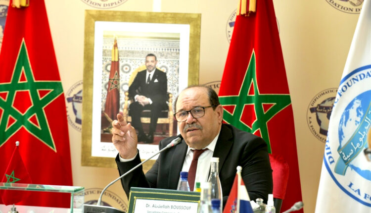 Boussouf Warns Ambassadors of the Danger of Establishing a New State in Africa