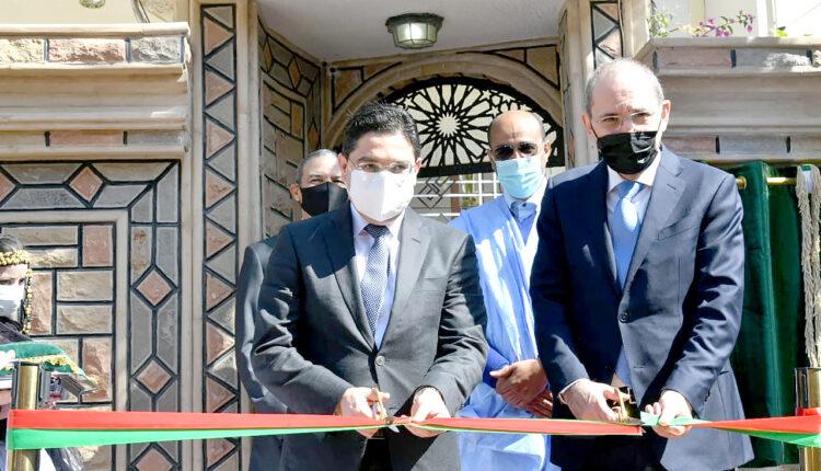 Nasser Bourita Meets with Counterpart Ayman Safadi to Inaugurate Jordan Consulate General in Laayoune
