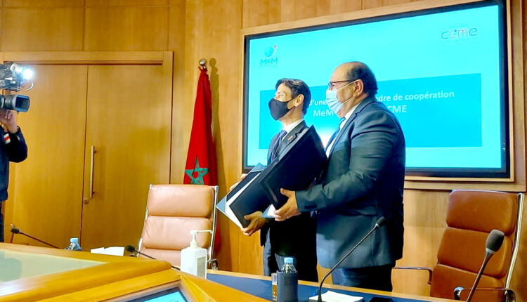 Boussouf CCME Secretary General Attracts Moroccan Entrepreneurs Residing Abroad in Partnership with CGEM
