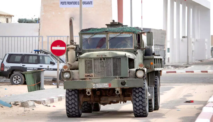 Morocco Royal Armed Forces Set up a Military Observation Base Guerguarat Crossing