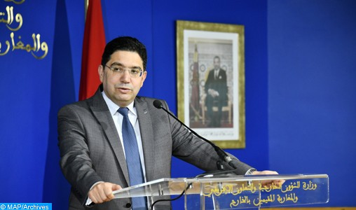 Nasser Bourita, Minister of Foreign Affairs, African Cooperation and Moroccan Expatriates.