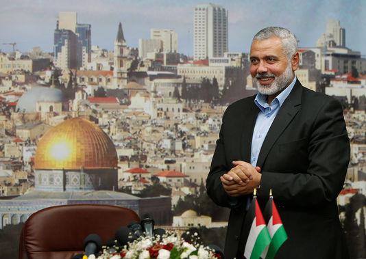 Ismael Haniyeh, Head of Hamas Political Bureau.