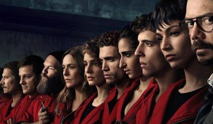 The fifth season of the most famous series La Casa De papel
