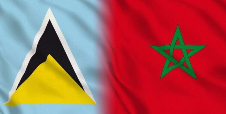 Saint Lucia expresses its support for Morocco's autonomy plan for Sahara.