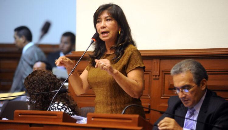 Peruvian Deputy Martha Gladys Chavez Cossio.