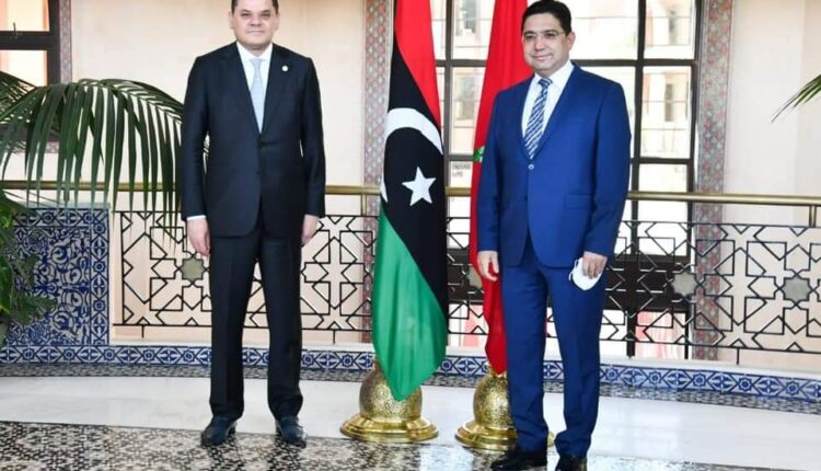 Nasser BOURITA, Minister of Foreign Affairs with the presedent of libya goverment