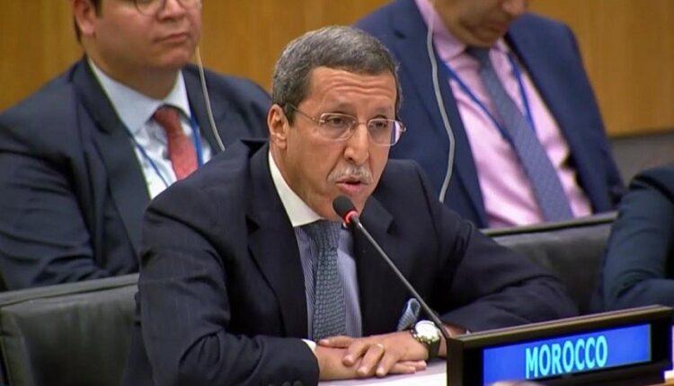 Omar Hilale Sahara