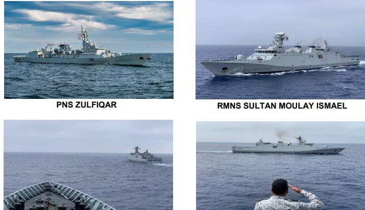 Morocco Pakistan Naval exercise
